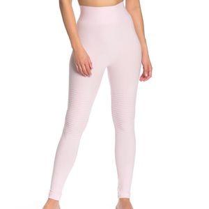 NWT Electric Yoga Moto Legging Pink M/L